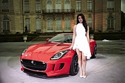 Lana Del Rey with JAGUAR F-Type
