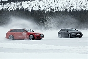 AUDI Quattro on ice