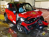 Quadricycles crash tests