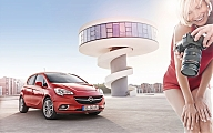 OPEL Corsa drifts your name